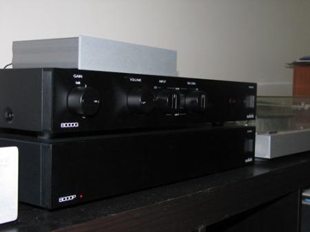 audiolab 8000 - pre / power